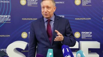 На ПМЭФ Петербург заключил контракты более чем на 200 млрд. рублей