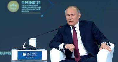 """""""Переоценивают могущество"""". Путин перед встречей с Байденом сравнил """"империю"""" США с СССР"""