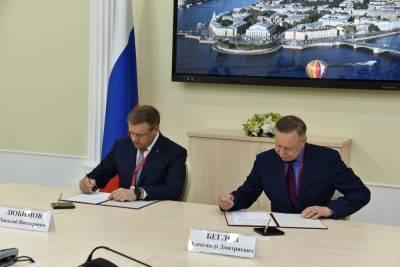 Рязанская область и Санкт-Петербург будут сотрудничать