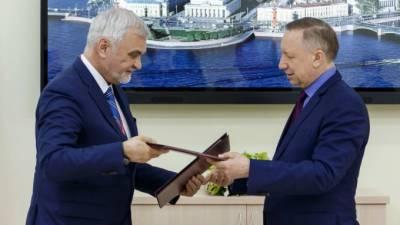 Петербург и Коми подписали соглашение о сотрудничестве