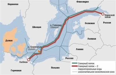 Путин назвал срок завершения второй ветки «Северного потока-2»