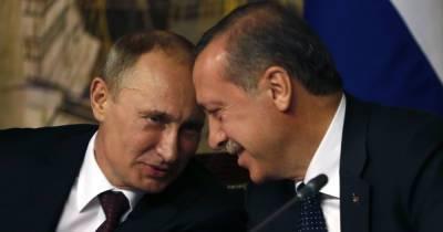 Эрдоган жаловался Зеленскому на шантаж со стороны Путина, — СМИ