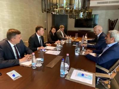 Куйвашев обсудил с президентом «Спортаккорд» подготовку к саммиту в Екатеринбурге