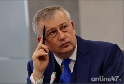 Александр Дрозденко ответит на вопросы ленинградцев по телефону 7 июня