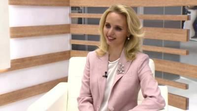 На телеканале «Россия 24» показали интервью с предполагаемой дочерью Путина