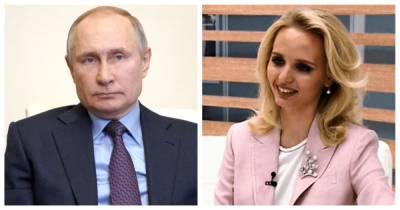 На российском ТВ выступила Мария Воронцова, предполагаемая старшая дочь Путина (видео)