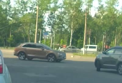 Двое пешеходов пострадали на переходе в Приморском районе Петербурга
