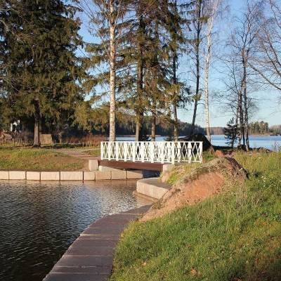 Александр Дрозденко показал, как преображается парк Монрепо в Выборге