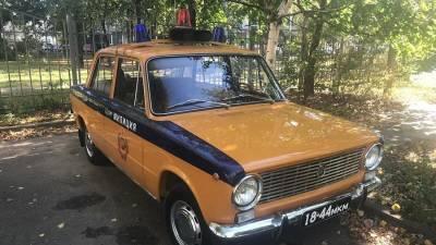 В Москве выставили на продажу милицейский ВАЗ-2101