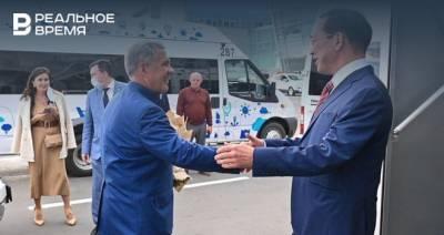 В Казань прибыл губернатор Республики Саха для празднования Дней Якутии в Татарстане