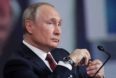 Путин оценил санкции ЕС против Белоруссии