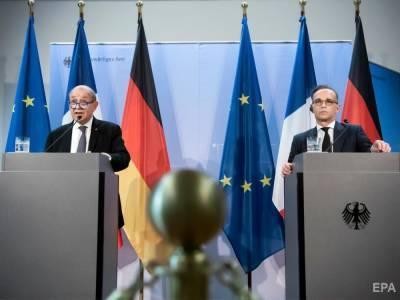 Франция и Германия напомнили РФ о ее ответственности в вопросе мирного решения конфликта на Донбассе