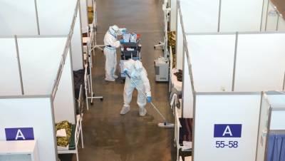 В Петербурге готовят запуск дополнительных коек под COVID
