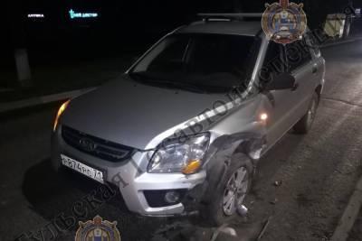 Тульские полицейские нашли водителя, который скрылся с места ДТП на улице Кирова