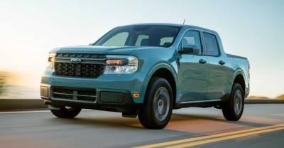 Ford представил новый компактный пикап Maverick