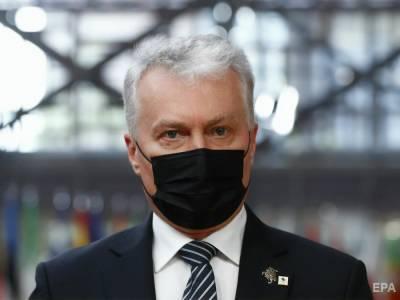Страны Балтии накануне саммита НАТО выступили за усиление поддержки Украины и Грузии – президент Литвы