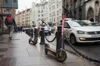 В Петербурге на время проведения Евро-2020 введут частичный запрет на электросамокаты