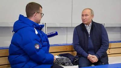 Интервью Владимира Путина об отношениях России и Украины. Полная версия