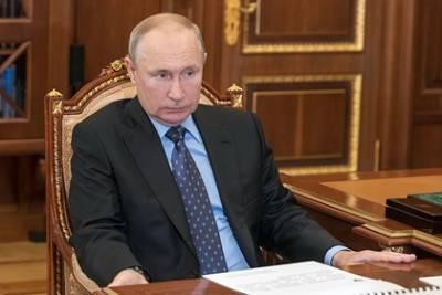 Путин назвал бессмысленными санкции США против «Северного потока-2»