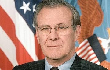 Ушел из жизни бывший министр обороны США Дональд Рамсфельд