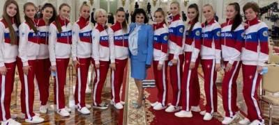 Гимнастка из Карелии встретилась с президентом России перед поездкой на Олимпиаду в Японию
