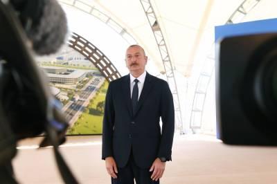 Президент Ильхам Алиев: Мы хотим, чтобы иностранные инвесторы вкладывали средства в Азербайджан, так как государственные инвестиции уже сыграли свою роль