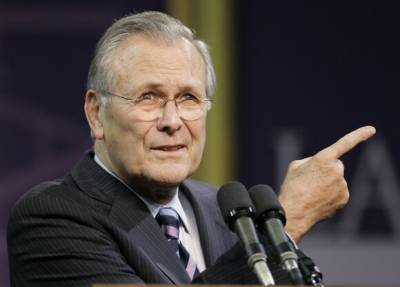 Умер экс-министр обороны США Дональд Рамсфелд