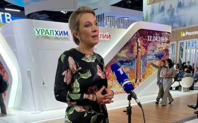 Спикер МИД РФ Захарова прокомментировала ситуацию с задержанными в Беларуси россиянами