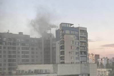 В двенадцатиэтажном доме на Васильевском острове загорелся ресторан