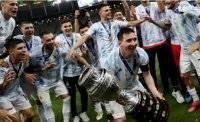 В финале Кубка Америки Аргентина победила Бразилию
