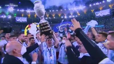 Аргентина победила Бразилию в Кубке Америки