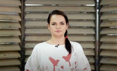 Тихановская рассказала о встрече с Зеленским в Литве