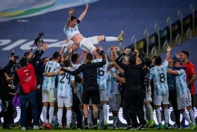 Месси впервые привел Аргентину к победе — к Кубку Америки