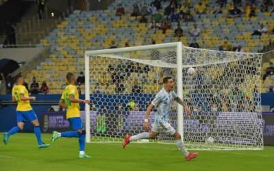Аргентина победила Бразилию и завоевала Кубок Америки