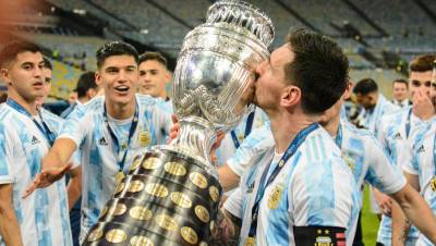 Месси назвал «безумным счастьем» победу в Кубке Америки