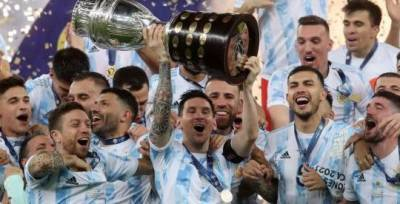 Сборная Агрентины победила Бразилию в финале Кубка Америки по футболу