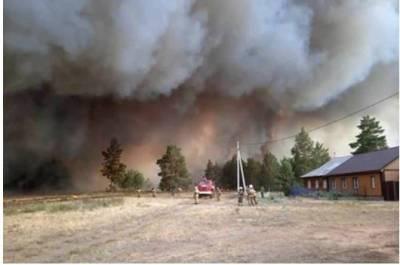 Названа возможная причина крупных пожаров в Челябинской области