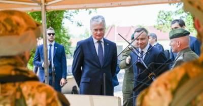 Президент Литвы воззвал к Польше с просьбой помочь справиться с нелегалами