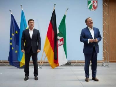 Зеленский в Берлине объяснил новому главе ХДС, чего Украина ожидает от нового правительства Германии