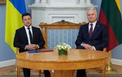 Диалог Литва — Украина: страна Second hand желает видеть членом ЕС страну 404