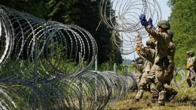 ЕС усиливает охрану границы Литвы с Белоруссией из-за нелегальных мигрантов