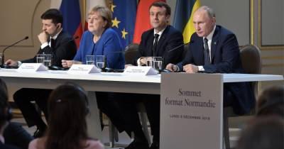 Зеленский хочет, чтоб Меркель и Макрон давили на Кремль