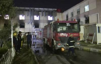 Число жертв пожара в COVID-больнице в Ираке возросло до 52