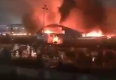 Баллон взорвался в переполненной больнице, число жертв перевалило за 50: детали и кадры трагедии в Ираке