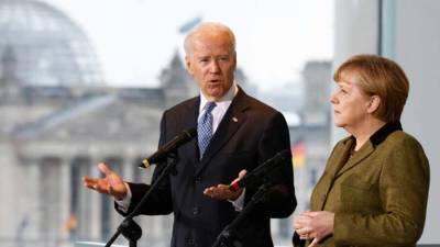 Bloomberg: Меркель унизила Байдена решением поддержать «Северный поток — 2»
