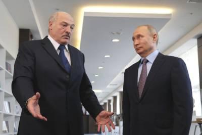 Встреча Путина и Лукашенко началась