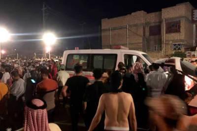 Путин выразил соболезнования президенту Ирака в связи с погибшими при пожаре