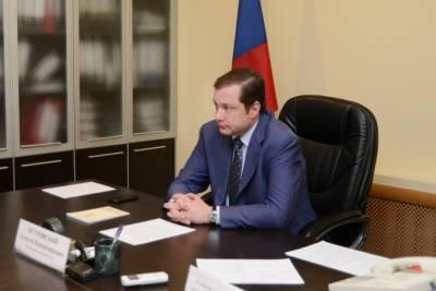 Работник «СпецАвто» попросил губернатора отремонтировать в Смоленске дорогу
