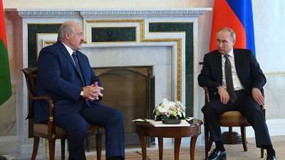 Переговоры Путина и Лукашенко продолжаются уже четыре часа