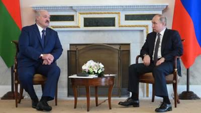Встреча Путина и Лукашенко: о чем говорят лидеры